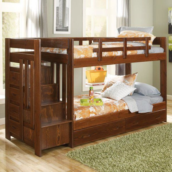 Best You Ll Love The Twin Bunk Bed With Storage At Wayfair 640 x 480