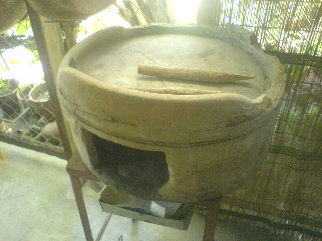 Portable Pugon Clay Wood Canning