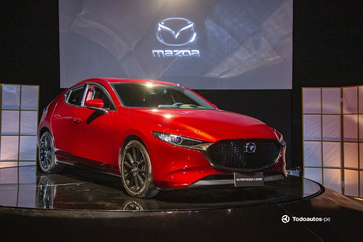Mazda 3 Skyactiv X 2020 Interior And Exterior All Skyactiv X Models Feature A 7in Digital Instrument Display And Mazdas New 88in Infotainment Central D Teknologi
