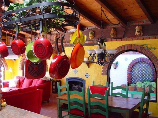 Ideas para tener una decoraci n r stica en tu casa con for Decoracion rustica mexicana