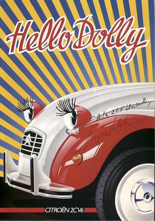 citroen 2cv dolly brochure
