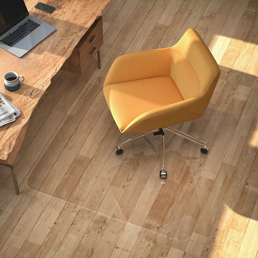 A Glass Office Chair Mat by Vitrazza is a quality piece of