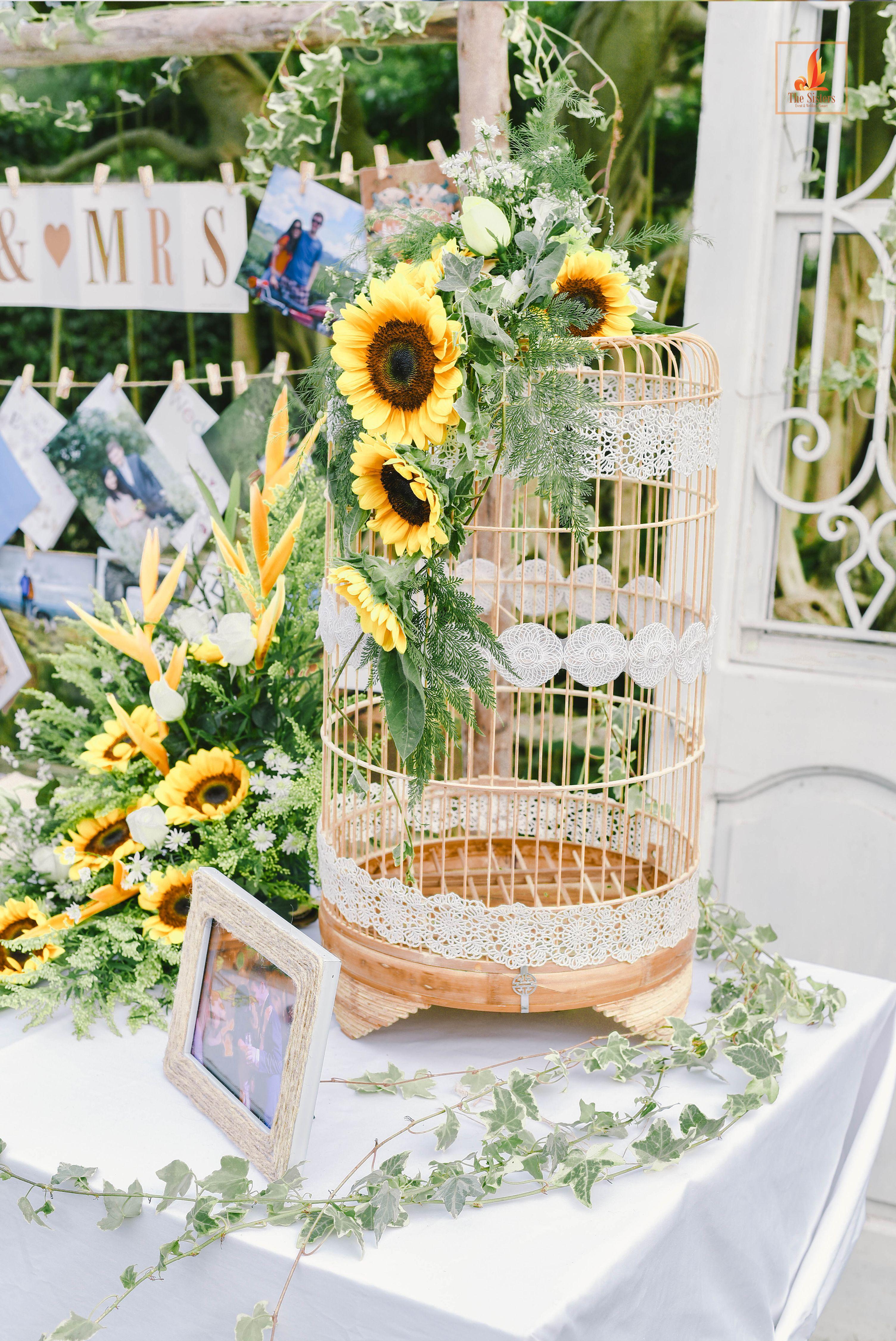 Rustic sunflower wedding in hanoi vietnam wedding planner the rustic sunflower wedding in hanoi vietnam wedding planner the sisters wedding decoration team junglespirit Image collections