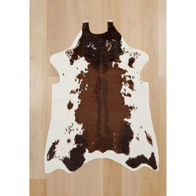 Faux Cowhide Rug Brown Kmart 49