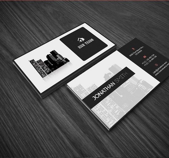 Real Estate Business Card   Card