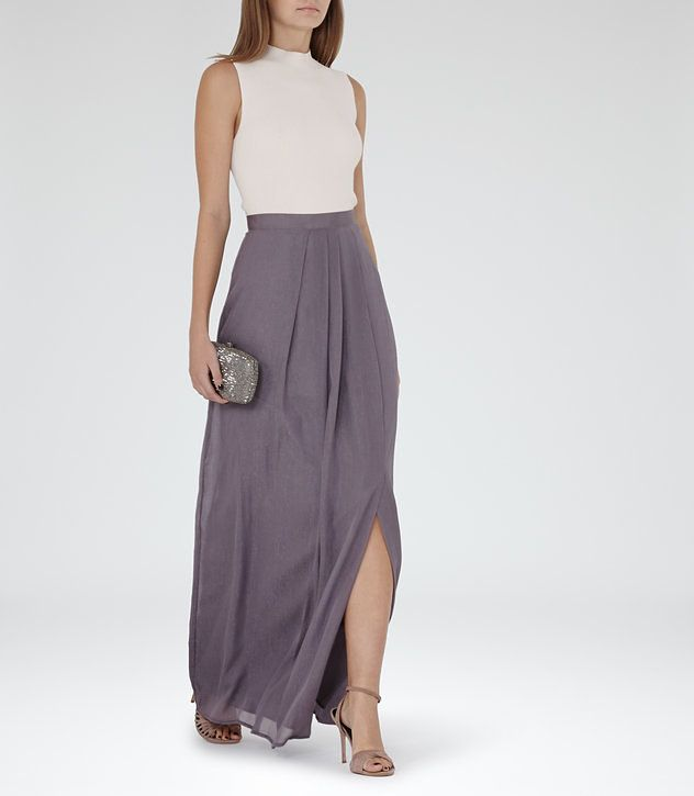 Reiss parka maxi dress