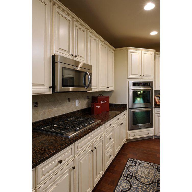 Brown To White Kitchen Cabinets: Antique White Kitchen, Antique