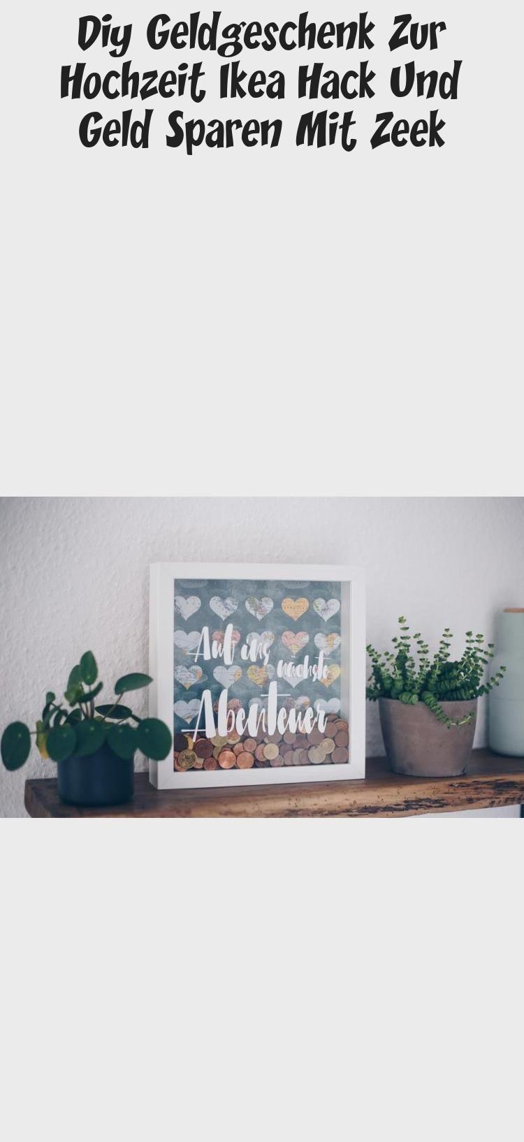 DIY Geld Geschenk für die Hochzeit – kreative Verpackung für die Flitterwochen in …