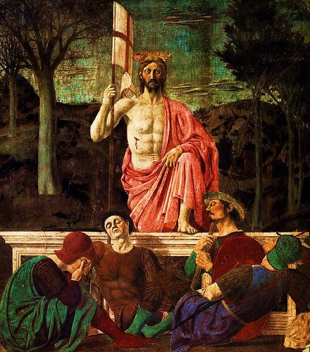 Image result for resurrection in renaissance painting