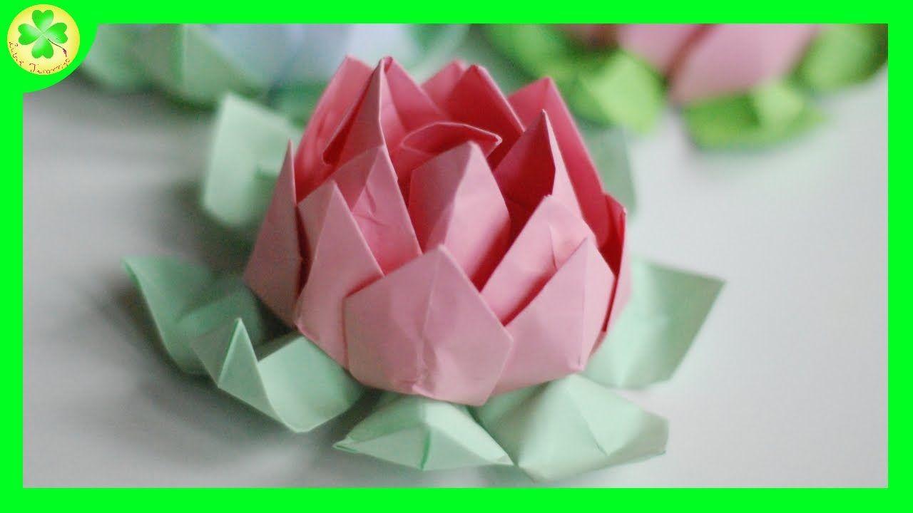 Jak Zrobic Tulipan Origami Crafts For Kids Origami Crafts