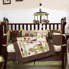 Sea Turtle Baby Bedding 9pc Boys Crib Set By Sweet Jojo Designs