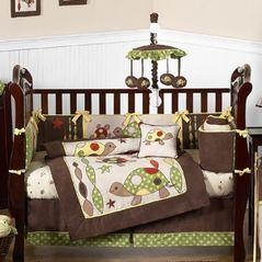 Sea Turtle Baby Bedding 9pc Boys Crib Set By Sweet Jojo Designs