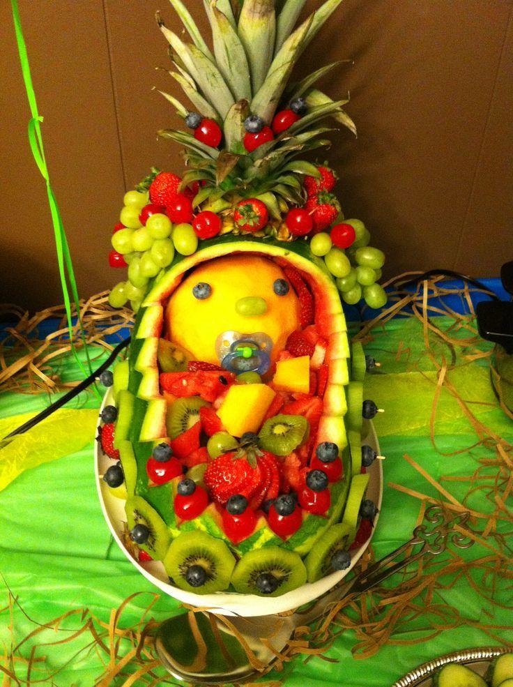 Fruit Platter For Baby Shower