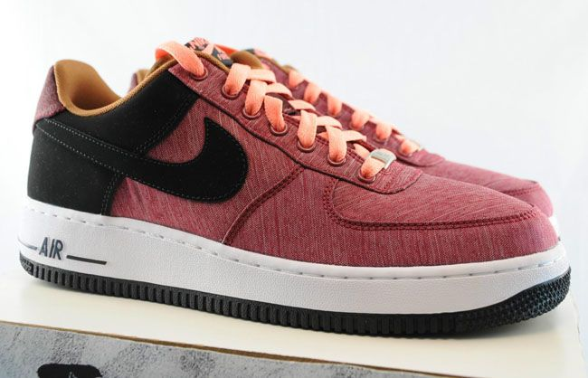 Nike Air Force 1 Low  Noble Red  Atomic Pink