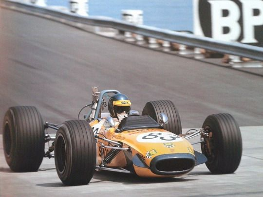 Ronnie Peterson with Tecno 69 Ford F3, 1969