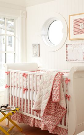 Rikshaw Design Taj Crib Bedding Set - Pink