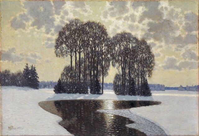 Winter, Vilhelms Purvītis