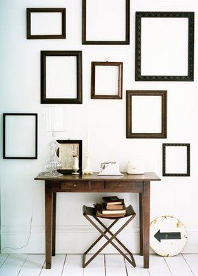 Old Frame Installations Home Decor Frames On Wall Empty Frames