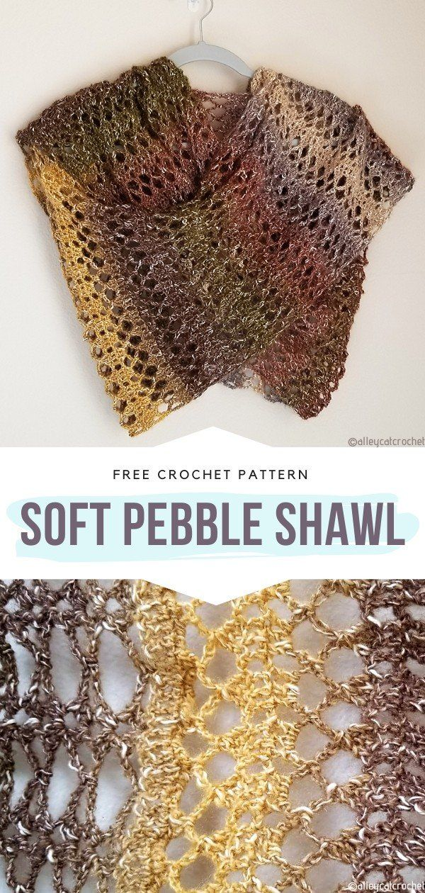Openwork Artistry Shawls Free Crochet Patterns