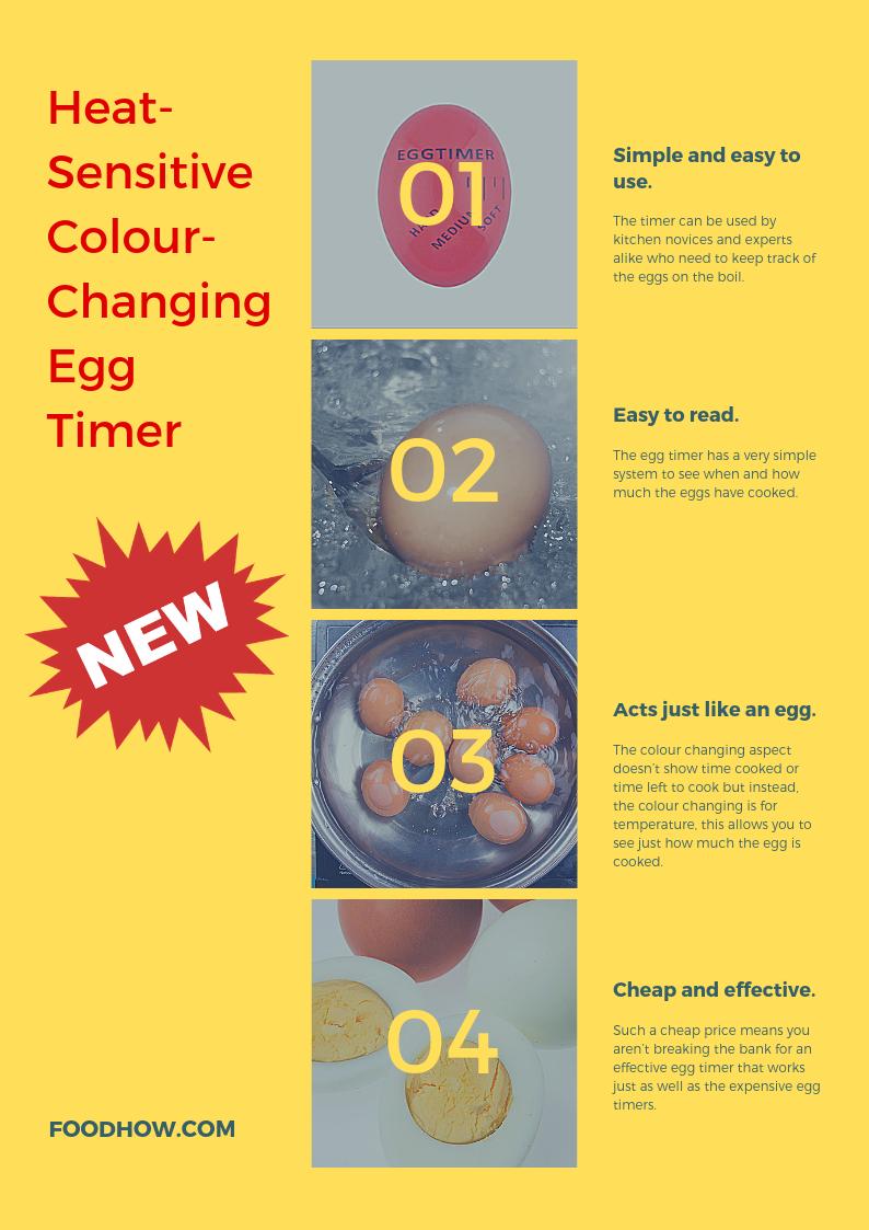 Koken en tafelen Kookgerei kitchencraft Colourworks Soft Touch Egg
