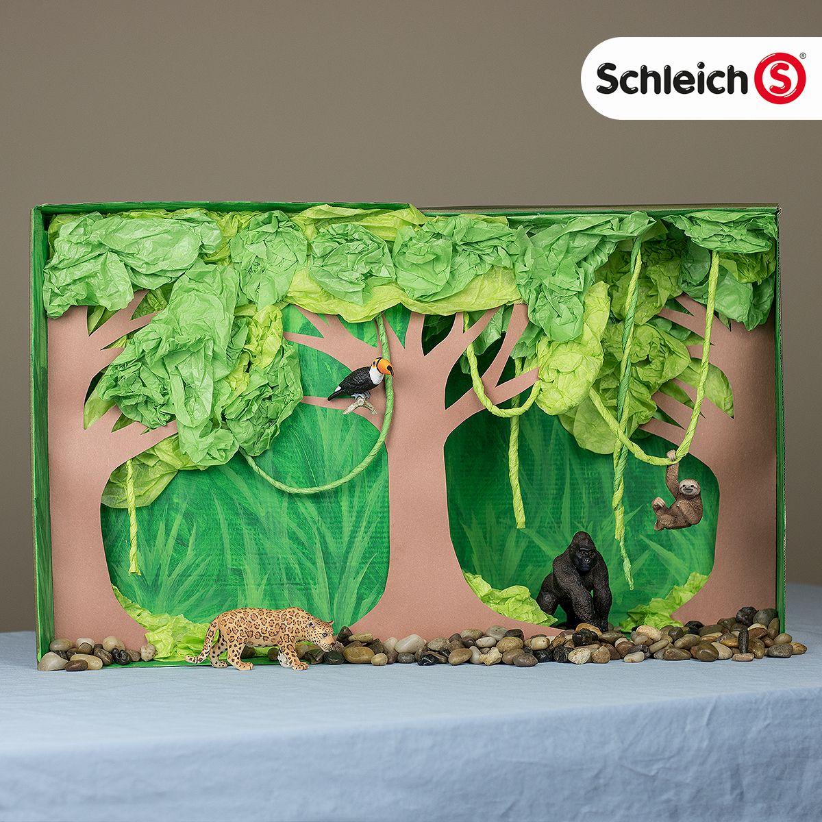 Diy Rainforest Diorama