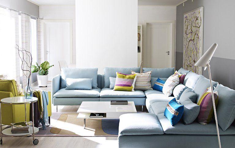 Sofa Serie Soderhamn Bei Ikea Wohnen Wohnung Wohnzimmer