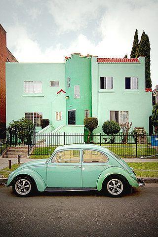 Pin by Bego Salem on Mint! | Vw beetles, Mint green, Volkswagen