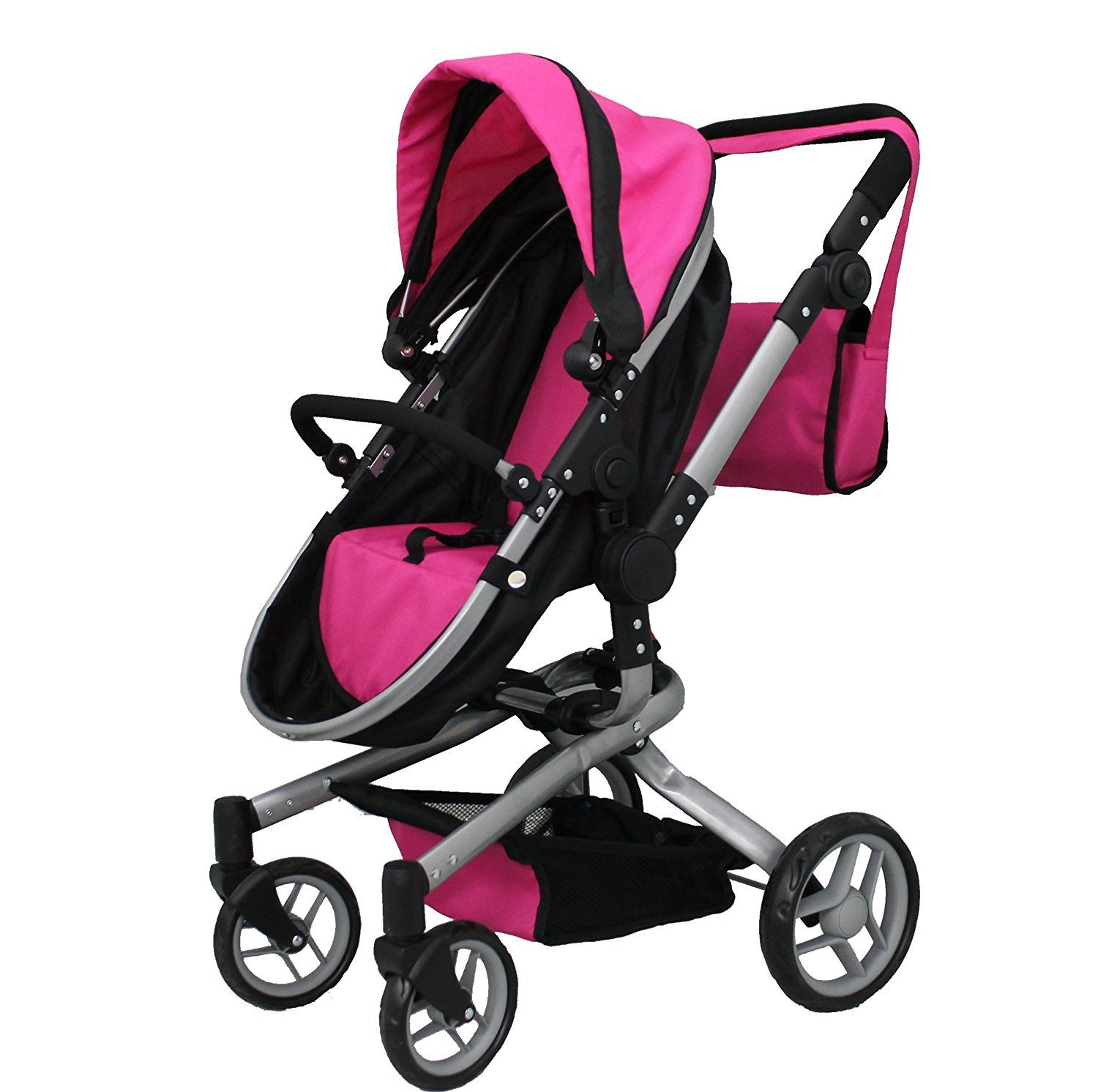 Mommy & me 2 in 1 Deluxe doll stroller EXTRA