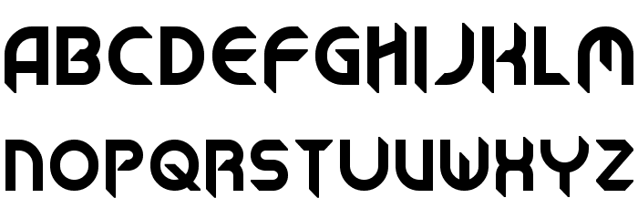 A Cool Typeface That Could Look Good For Title I Like The Sharp Feel To Letters