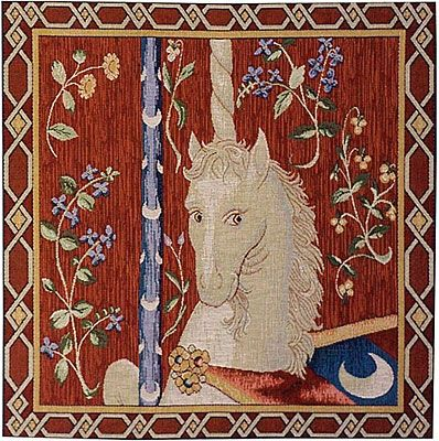 Unicorn Tapestry Pillow