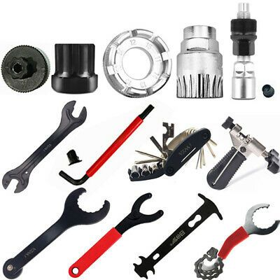 Cycling Mountain Bike Bicycle Crank Chain Extractor Removal Repair Tool Kit Set