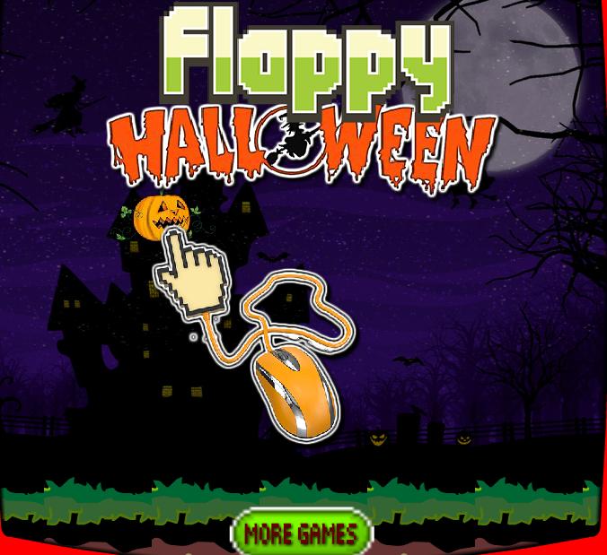 flappy halloween pumpkin
