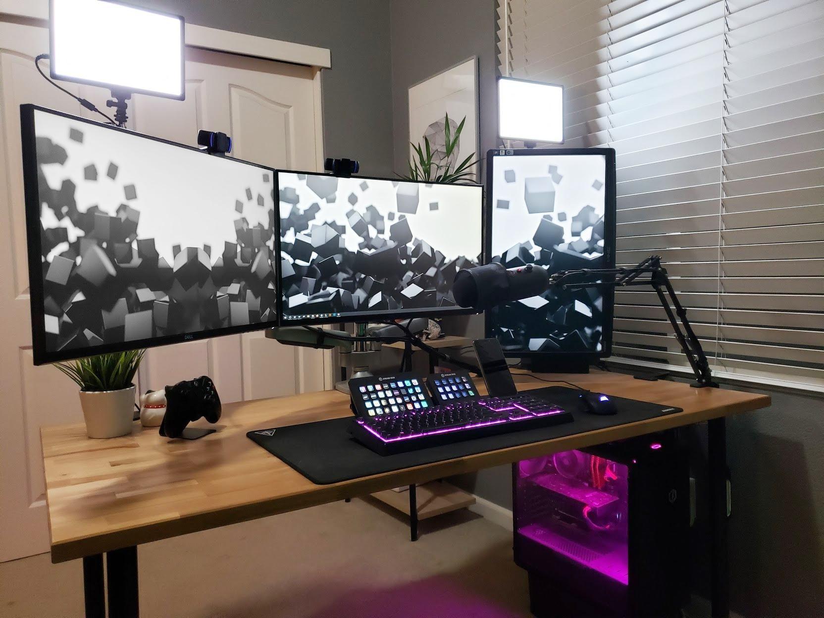 Home Office Streaming Studio In 2020 Home Office Setup Streaming Setup Room Setup