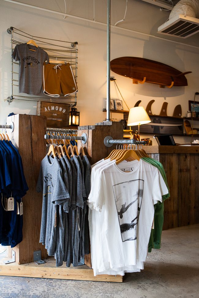 Almond Newport Beach Orange County Clothing Store Displays Shirt Display Shopping Outfit