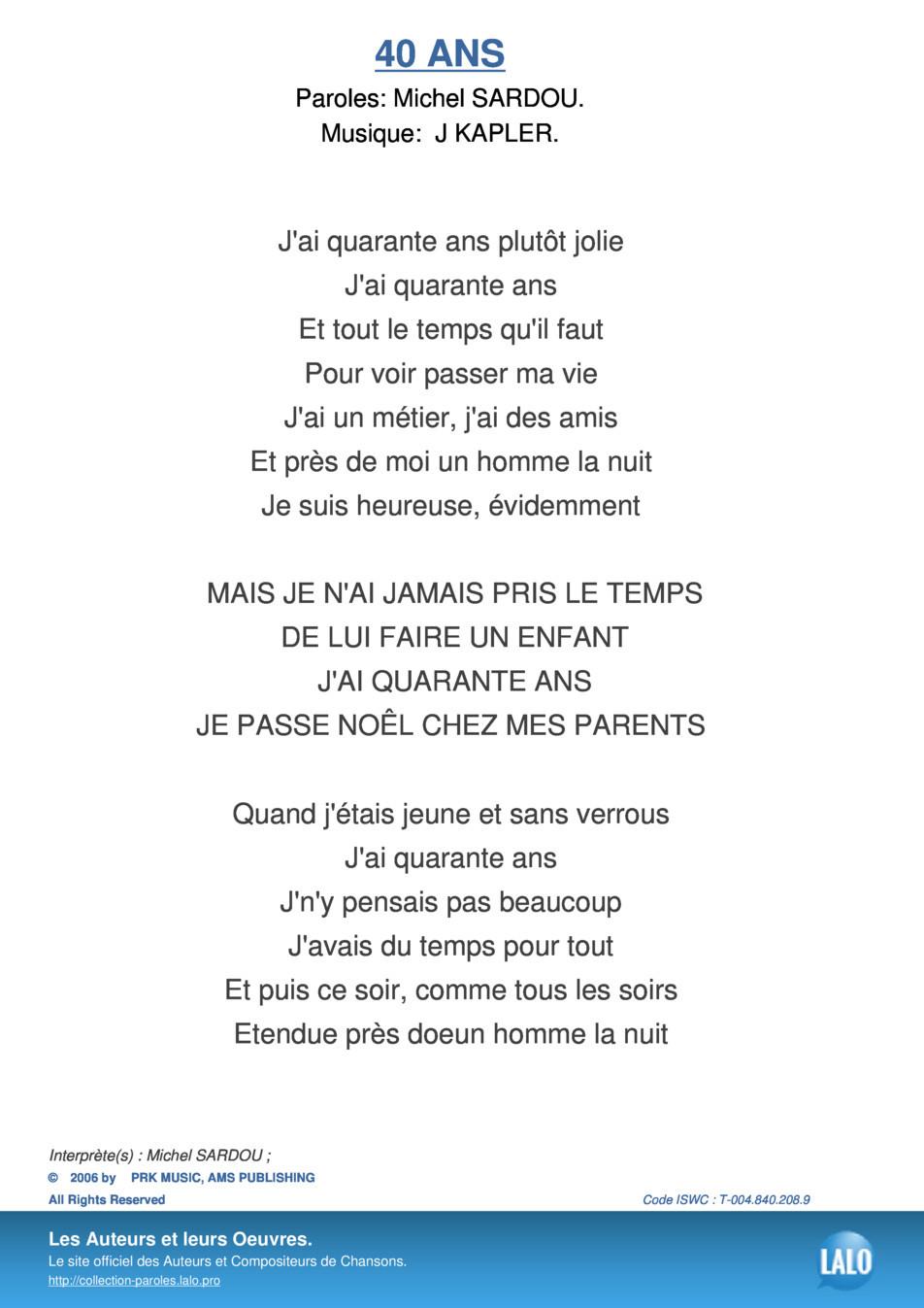 Chanson Je Suis Un Homme : chanson, homme, Chanson, D'anniversaire, Inspirational, Parole, Anniversaire,, Paroles, Chansons,