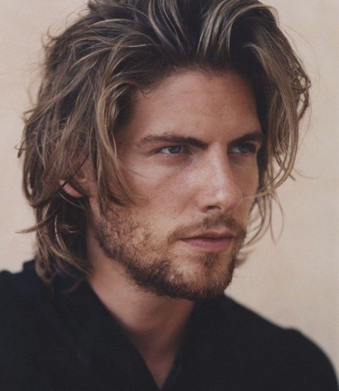 1001 Ideas For Styling Mid Length Hair For Men Lange Haare
