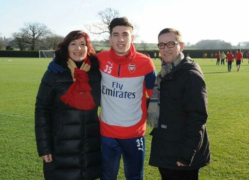 Picture of Héctor Bellerín Father & Mother, called Maty