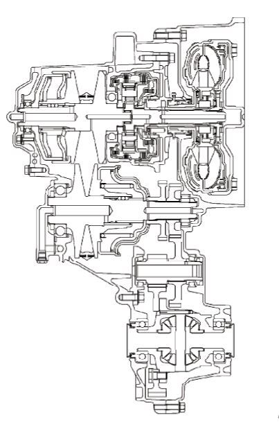 F1C1 CVT (CONTINUOUSLY VARIABLE TRANSMISSION) Service and