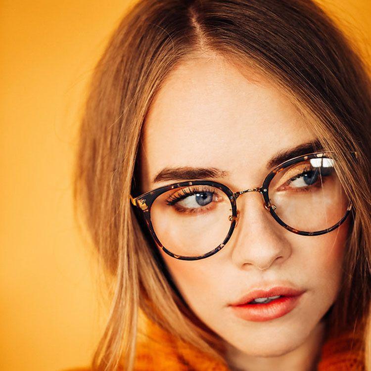 79ec8b55cc9e6 Maaike eyeglasses in Amber for women and men - Shop Eyeglasses   Sunglasses  Online - Rx Glasses