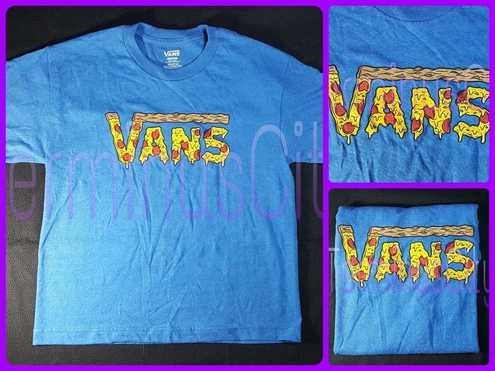 vans t shirt kids purple
