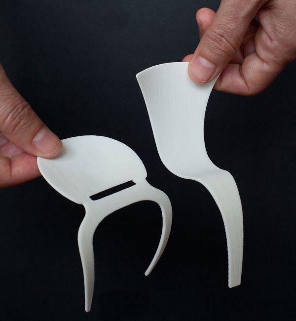 La tecnica semplice ad incastro della sedia aero for Imitazioni mobili design