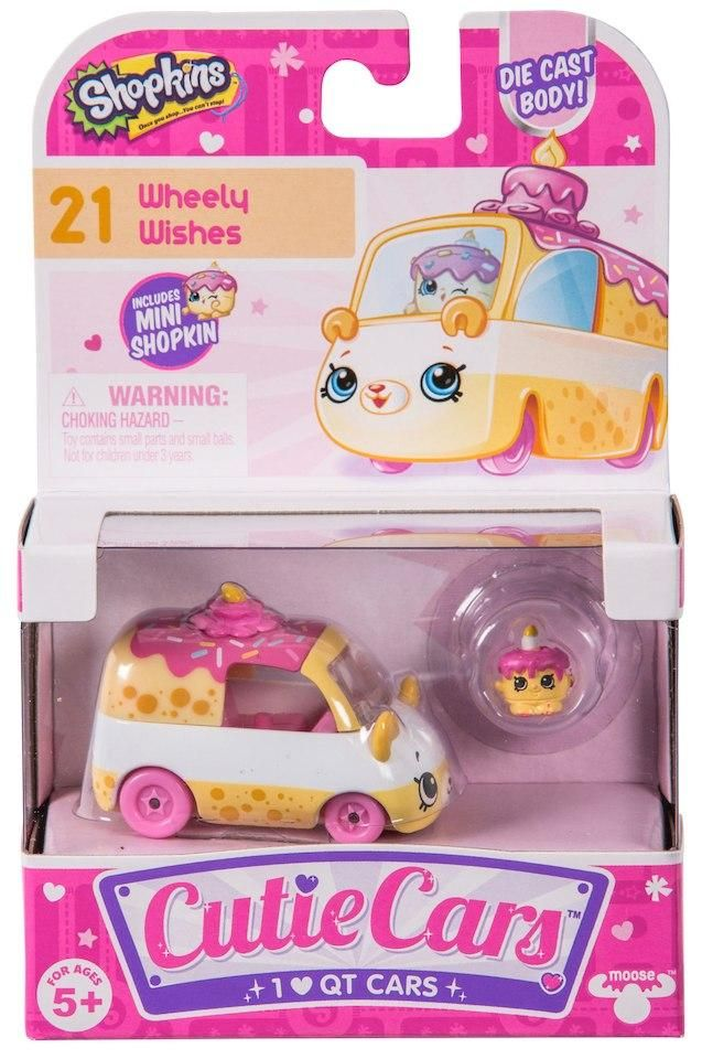 Shopkins Cutie Cars #21 Wheely Wishes with Mini Shopkin Exclusive ...
