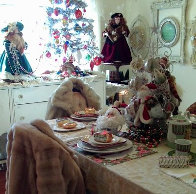 Penny's Vintage Home: Baby It's Cold Outside Tablescape