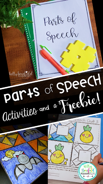 Fun Activities for Reviewing Parts of Speech Parts of