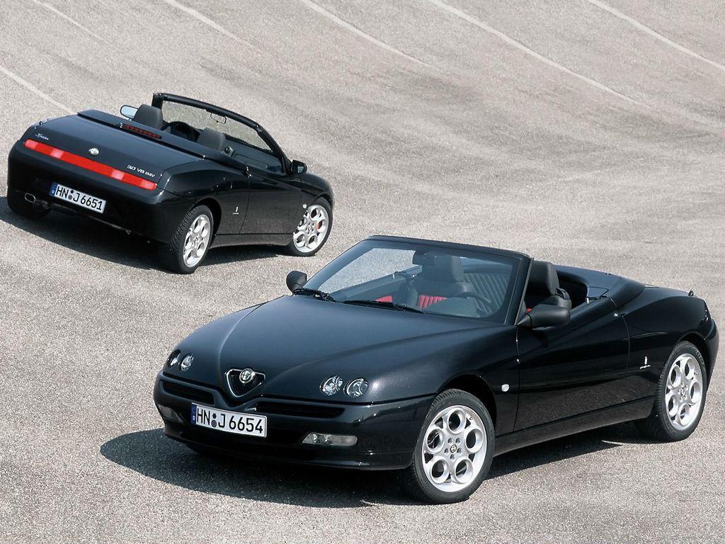 """alfa romeo spider """"edizione elegante"""" (916) '05.2002   cars"""
