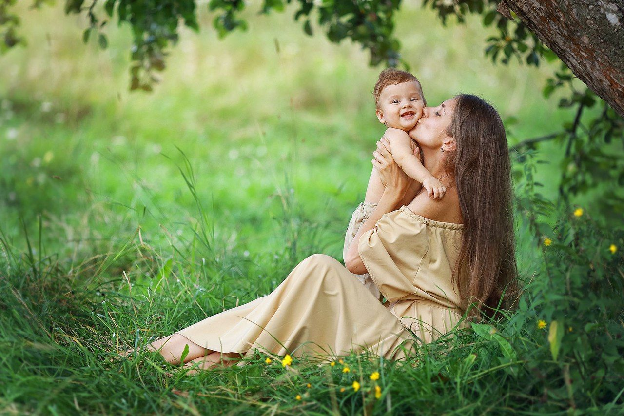 Mother & Child l Family Photography | Позы для детских ...
