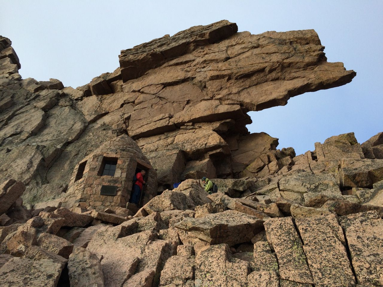 Shelter At The Keyhole On Longs Peak In Rocky Fabulous Places