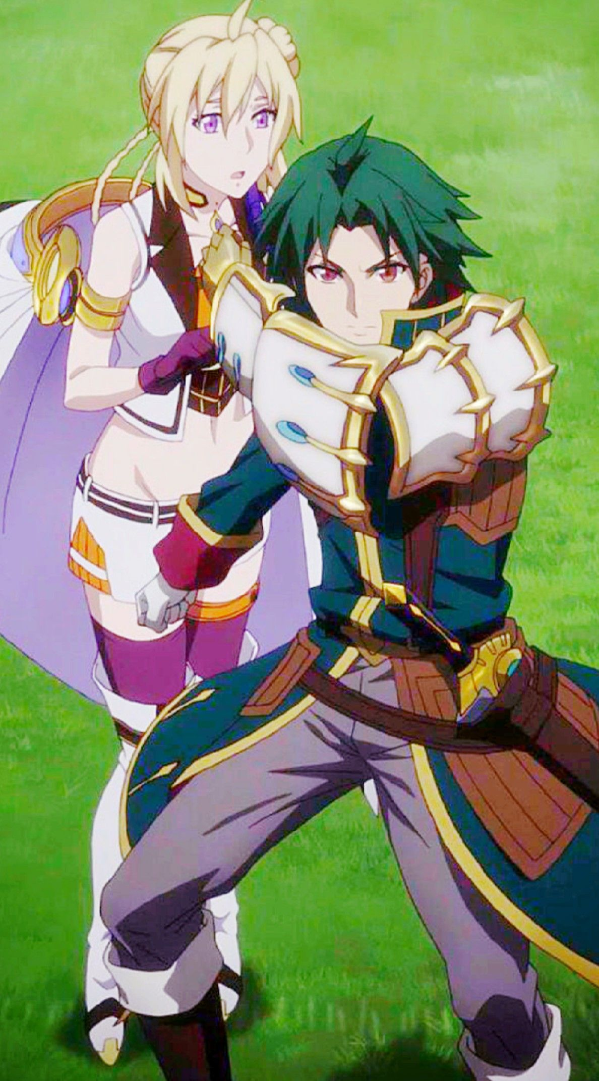 Record Of Grancrest War Theo Cornaro and Siluca Meletes
