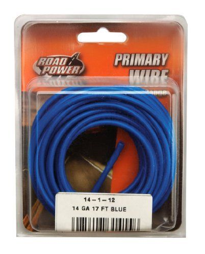 Coleman Cable 14 1 12 14 Gauge 17 Foot Automotive Copper Wire Blue By Coleman Cable 6 20 Coleman Cable 14 1 12 Aut Electrical Wire Connectors Coleman Wire