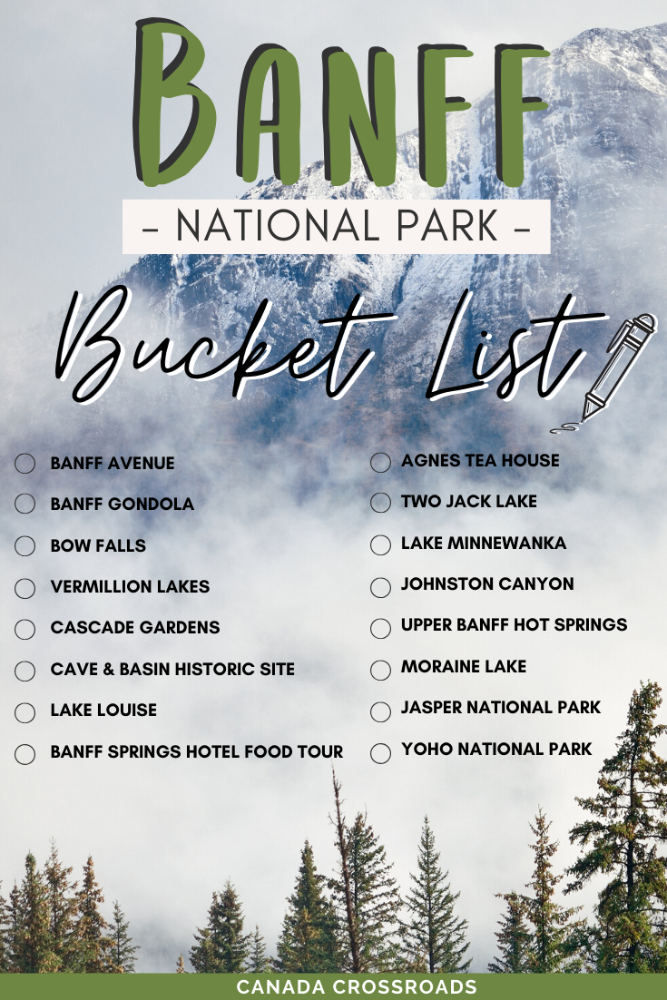 Banff National Park Itinerary